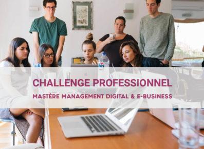 Mise en situation professionnelle master digital rennes